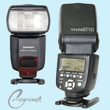 YONGNUO Flash Unit Speedlite YN560-III for Canon Camera 1Dx 5Ds 5DIII 5DII 6D 7D