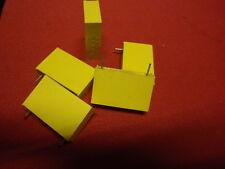 Condensateur hochvolt 3,3nf (3300pf) 2000v = philips jaune 28x17x8mm rm ~ 23mm 24963