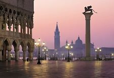 Fototapete SAN MARCO 368x254 cm, Markusplatz in Venedig, Italien, Canal Grande