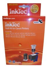 Inktec Ink Cartridge Black Refill Kit for Canon MP240