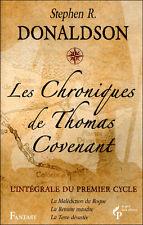 LES CHRONIQUES DE THOMAS COVENANT intégrale 1er cycle DONALDSON fantasy livre