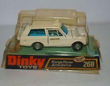 Dinky Toys Gb 268 Ambulance Range Rover en boîte