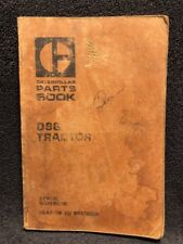 CAT Caterpillar D9 D9G Tractor Parts Book 66A9418 To 66A12015 UEG0314S Apr 1973