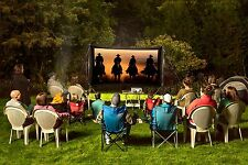 Backyard Theater Systems-recreation Series- 11'Screen- SAVI projector-Speakers