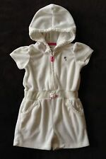 CARTER'S SWIMSUIT COVERUP SHORTS w/ HOOD Carters Baby GIRLS SIZE 6 MONTHS EUC