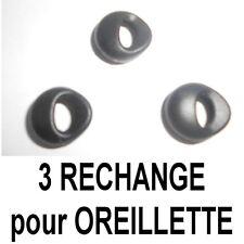 3 RECHANGE MOUSSES ÉCOUTEUR OREILLETTE CASQUE SAMSUNG JABRA MOTOROLA PLANTRONICS