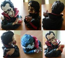 Statua Vampiro Teschio Busto - Vampire Skull Statue Bust