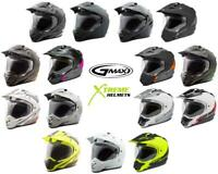 GMAX GM11 Helmet Dual Sport Motorcycle Off Road DOT XS-2XL