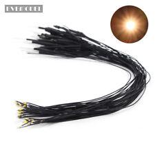 L0805GWDE NEU 20 Stk. SMD LEDs goldenweiss Bauform 0805 mit Kabel 20cm 12-18 V