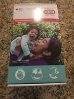 Infant Anytime CPR Kit Bilingual Instructions DVD Baby Manikin Learn Practice
