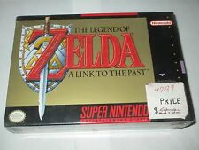 Legend of Zelda: A Link to the Past (Super Nintendo SNES) NEW Factory Sealed