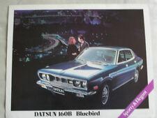 Datsun 160B Bluebird brochure c1972