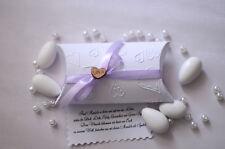 Gastgeschenke Herz Mandeln Hochzeit Tischdeko Kartonage N.3