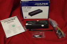 ALPINE KTP-445U 4-Channel Head Unit Universal Power Pack Amplifier, NEW, #N1