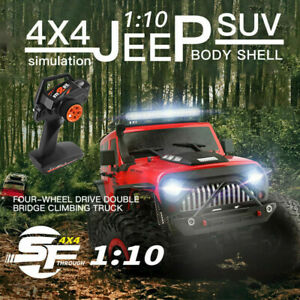WLtoys 104311 RC Car 2.4G 1/10 4WD Jeep Car Brushed Remote Control Off-road Car