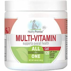Four Paws Healthy Promise Cat Multivitamin Soft Chews 120 Count 5.08 oz.