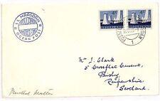 JJ274 1963 Amsterdam Netherlands Scotland GB Cover {samwells-covers}