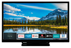 Toshiba 24W2963DAX 24 Zoll Fernseher HD TV Smart TV WLAN Triple-Tuner Bluetooth