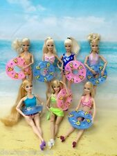 15x set girls toy doll BARBIE dress swimming COSTUME BEACH outfits dresses BC106