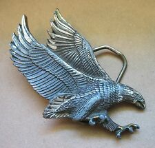 A vintage 1979 Great American Buckle Co. Chicago Flying Eagle H506 Belt Buckle