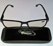 NEW Advanced ComSafe Vision Computer glasses Anti Glare Blue Rays UV Radiation