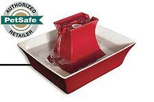 Drinkwell Red Stoneware Pagoda Pet Water Fountain Pww00-14289