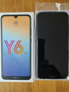 Huawei Y6 (2019) MRD-LX1 - 32GB - Midnight Black (Unlocked)