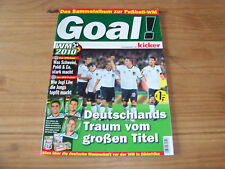 Goal Fußball-WM 2010 ! Deutschlands Traum vom großen Titel - Ferrero 2010