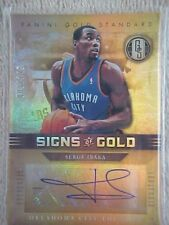 SERGE IBAKA 2011-12 GOLD STANDARD SIGNS OF GOLD AUTOGRAPH CARD #SG-52 003/149