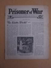 The Prisoner of War Red Cross & St John War organisation. No30 October 1944