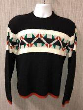 Vtg Olav Andersen Revere Mens Medium Sweater Norwegian Nordic Orlon Acrylic