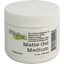 Crafter's Workshop Gel Medium 2oz-matte