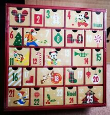 Disney Store 2016 Christmas Advent Calendar Mickey Mouse & Friends 24 Drawer NEW