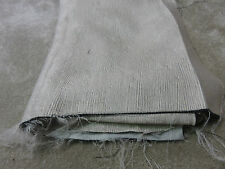 Natural beige soft lined thermal blackout remnant crafts fabric piece 110x80cm