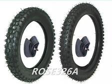 2.50-14 + 3.00-12 Tire & Inner Tube for Front & Rear