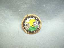 Football full color trophy award pin
