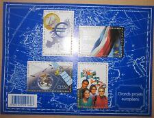 France Feuillet n° 123 Neuf** Grands projets Européens année 2008