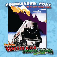 COMMANDER CODY New Sealed 2017 UNRELEASED LIVE 1973 CONCERT CD