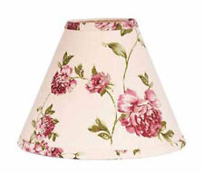 12 inch Ellie Rose Lamp Shade Home Collection by Raghu Cotton Clip On Style