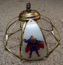Rare 1977 SUPERMAN Pool Table Light / Bar Light / Hanging Light Australia