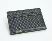 Tumi Alpha SLG Slim Card Case Wallet Reflective Lime Black New