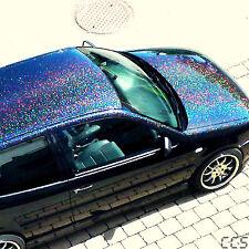 XL metal flakes BLACK HOLO AUTO CAR EFFETTO VERNICE 25g (100g = 24 €)