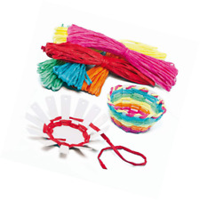 Baker Ross EF656 Basket Weaving Project — Ideal for Kids' Arts and Crafts