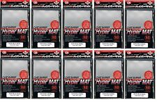 800 (10x80) KMC Hyper Mat Clear Matte Deck Protectors Sleeves MTG Pokemon