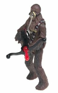 Hasbro Star Wars Chewbacca Mynock Hunt Bowcaster TESB Action Figure NEW