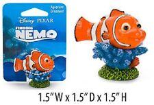 Finding Nemo Mini Aquarium Ornament - Nemo on Coral - 1.5 in - NMR40 - Penn Plax