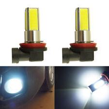 2x H11 COB LED Hi-Bright Day Driving Front Head Fog Light For Honda Accord Euro