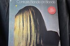 "Blonde On Blonde Contrasts + 2 bonus tracks 12"" coloured vinyl LP New + Sealed"