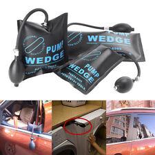 3 x  Air Pump Wedge Inflatable Shim Pad Cushion Powerful Opener Hand Tool Black