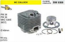 247253 CILINDRO E PISTONE MOTOSEGA McCULLOCH PM38 OM36 mac 538 38cc Ø 40 mm